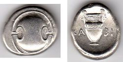 Boeotia, Thebes, 395-338 BC Stater