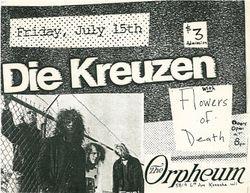 1988-07-15 Orpheum, Kenosha, WI