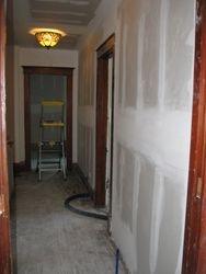upstirs drywall