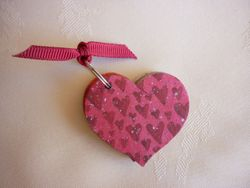 Heart Wishes Keyring