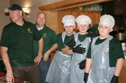 Serving crew