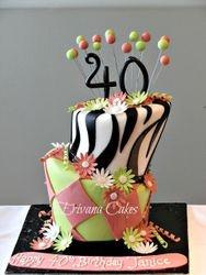 Tops Turvy Cake