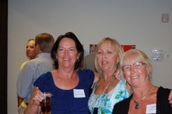 Sue Nagle Normandin, Debbie Roth Thomas and Martha Oxenford Noah