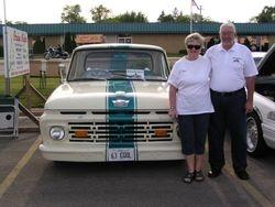 Sue & Tim Bauscher's 1963 Ford Pick-up, 5.0 HO engine, 5 speed