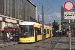 Berlin Flexity no. 9005 at Alexanderplatz.