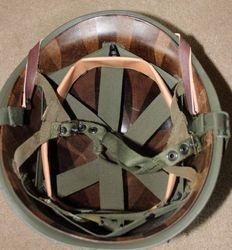 Later Airborne MP helmet: