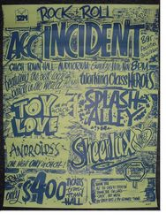 Rock + Roll Incident Christchurch Town Hall 1979