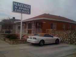 As you drive up: Massage N' Spirit