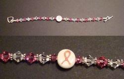 Breast Cancer Awareness Bracelet (Item #2002)  $20.00