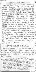 Grubb, Ira 1938