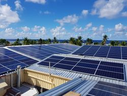 330kw solar installation Nauru