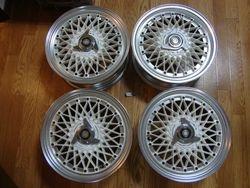SSR Spinner Mesh Wheels