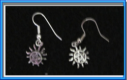 Protection Tattoo Earrings