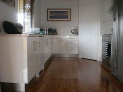 36. Gloss White Kitchen.