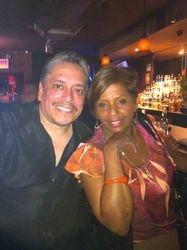 Nap & Mara hanging out at Carmen & Patty's Birthday Celebration (502 Bar Lounge's Social Saturday Karaoke Night)!