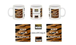 Keep Calm & Chuffle WHF mug