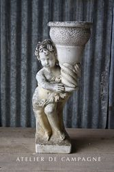 #27/152 FRENCH GARDEN BOY PLANTER