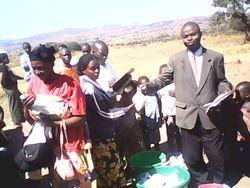 Pastor Alobo shares the Word of God