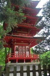 Pagoda, Japanese Tea Garden