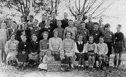 Linton State School pupils, 1955