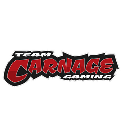 Official Team Carnage Gaming logo (text)