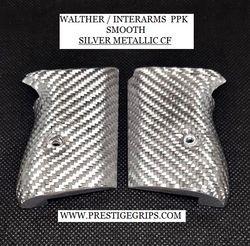 WALTHER PPK smooth silver metallic CF