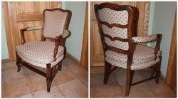 Klasikinio stiliaus fotelis. Kaina 62