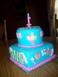 Babys First's Themed Birthday Cake