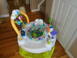 Evenflo ExerSaucer Triple Fun Active Learning Center - $40