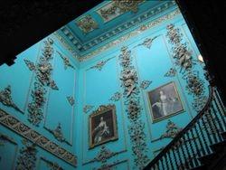 Powderham Castle, Devon - Baroque Grand Staircase