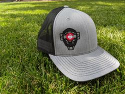 Offset Mask Hat (Heather Gray/Black)