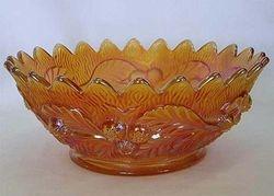 Acorn Burrs master berry bowl, marigold