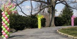 Easter at Stone Ridge Balloon Columns
