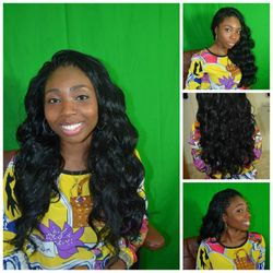 all back tree braids using Kanubia hair