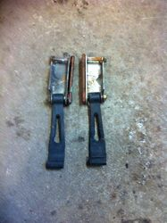 1983 Bravo hood straps and brackets