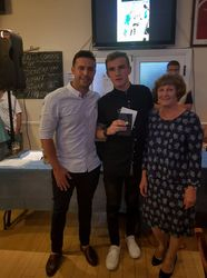 Gordon Lewis Award - Young Player of the Year - Jack Harris