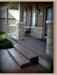 Front Porch with Steps