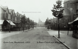 Grove Lane, Handsworth. 1911
