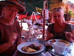 Breakfast at Chac Mool