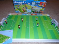 Playmobil Soccer Match 4700 in Original Box - $35