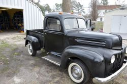 40.47 ford truck rat rod project
