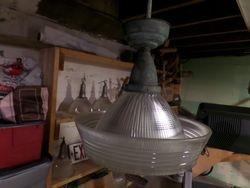 Sailor's Hat light hanging