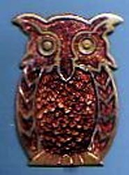 1932 - 1968 Tawny Owl Warrant Badge