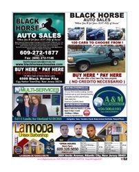 Black Horse Auto Sales, A&M Multiservices, La Moda, Spanish-Latino Business.