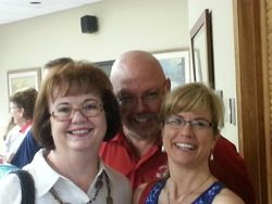 JoAnne Tilton with Rusty and Laurie Anderson
