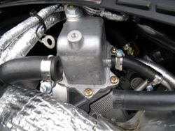 Removed OEM check valve