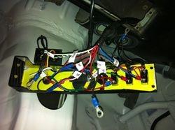 Dash main switch panel wiring setup