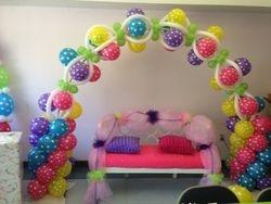 Polka Dots Balloon Arch