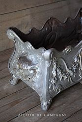 #29/259B FRENCH JARDINIERE SIVER DETAIL