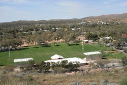 Over Looking Alice Springs from ANZAC Hill